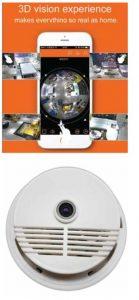 CCTV Smoke Detector