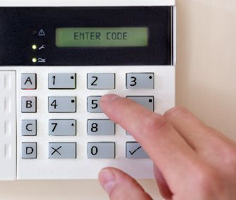 What to do if your alarm keypad keeps sticking