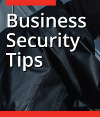 Business Security Tips from ESP Security