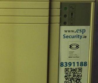 Burglar Alarm Keypad Replacement